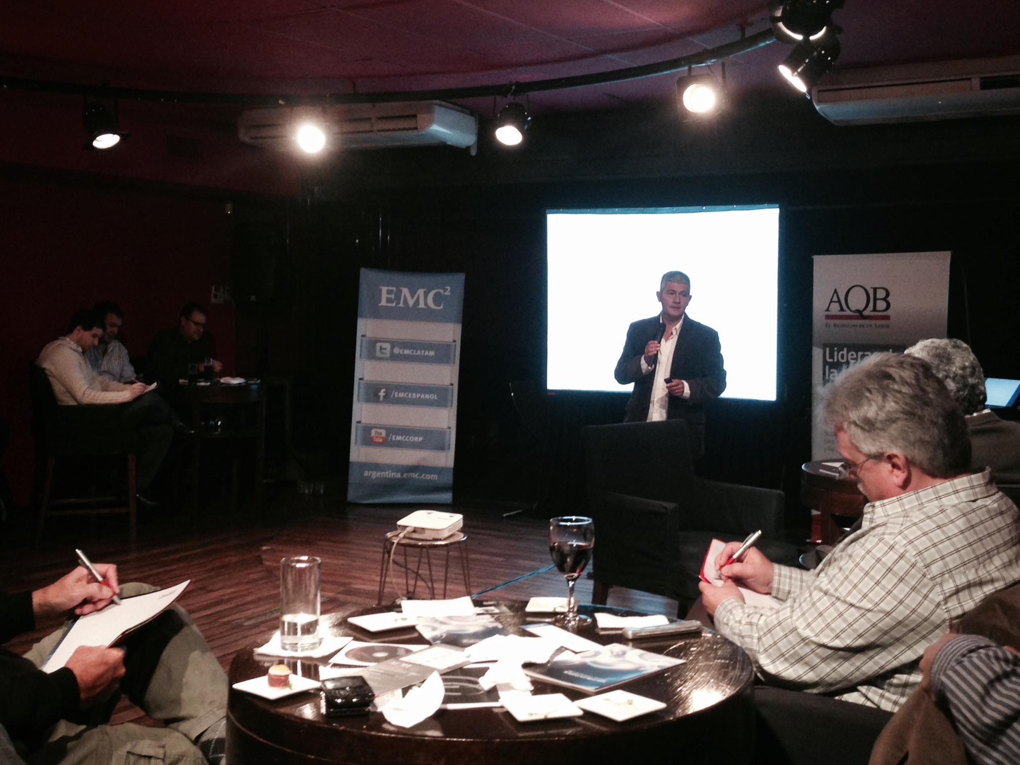 EVENPRO junto a Enrique Nardone para AQB y EMC en Cuk Buenos Aires