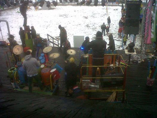 EVENPRO junto a El Choque Urbano en el show de apertura temporada Cerro Catedral Bariloche