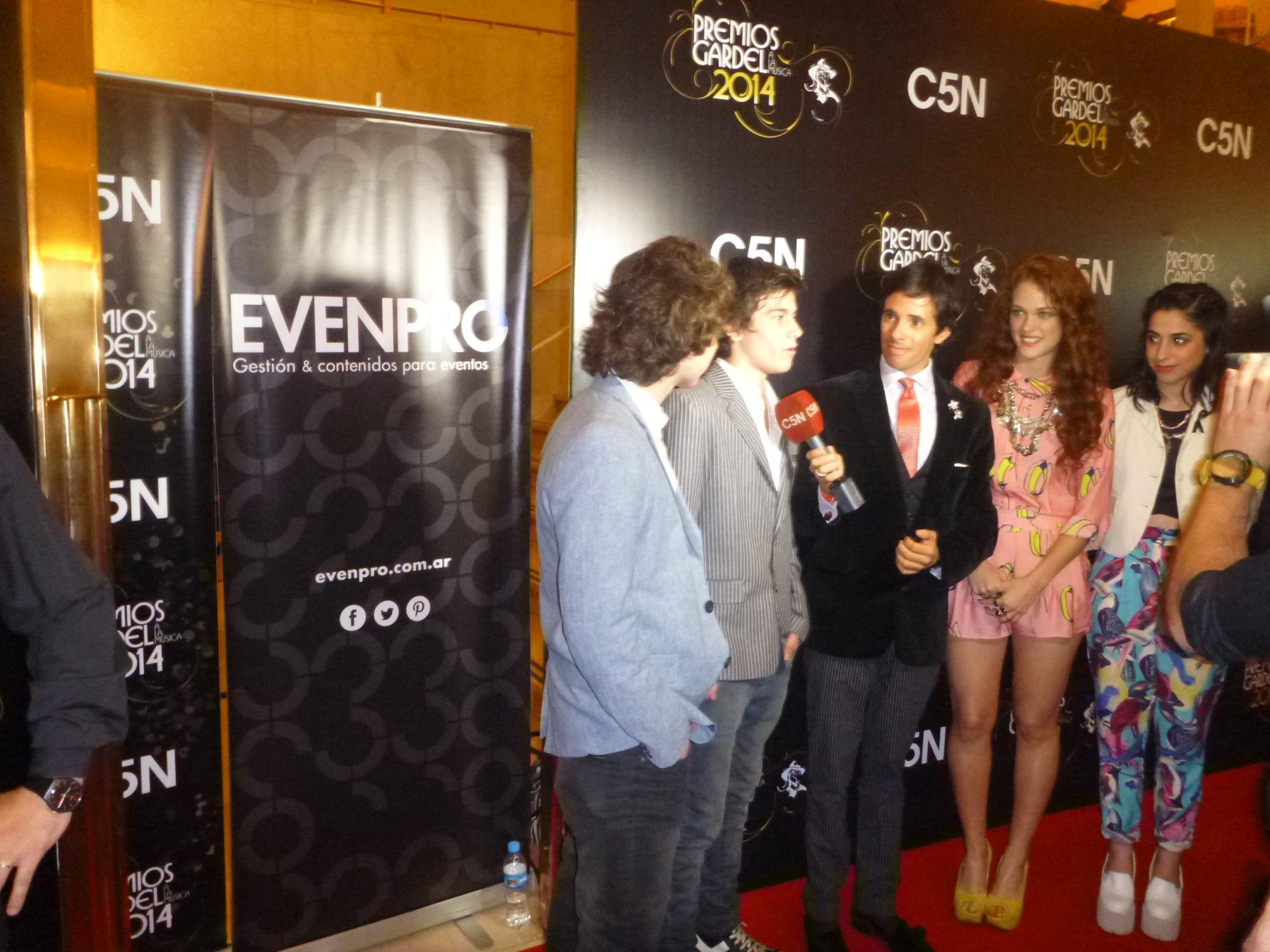 EVENPRO en la producción integral de los Premios Gardel 2014