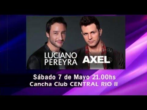 Show de Axel y Luciano Pereira juntos