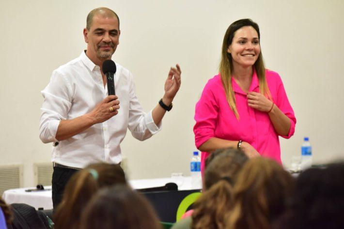 Conferencia del DT de la Seleccion de Basquet Argentina Sergio Hernandez