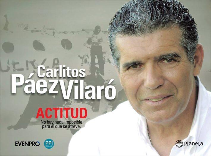 Gira de Conferencias Abiertas al Publico de Carlitos Paez en Argentina