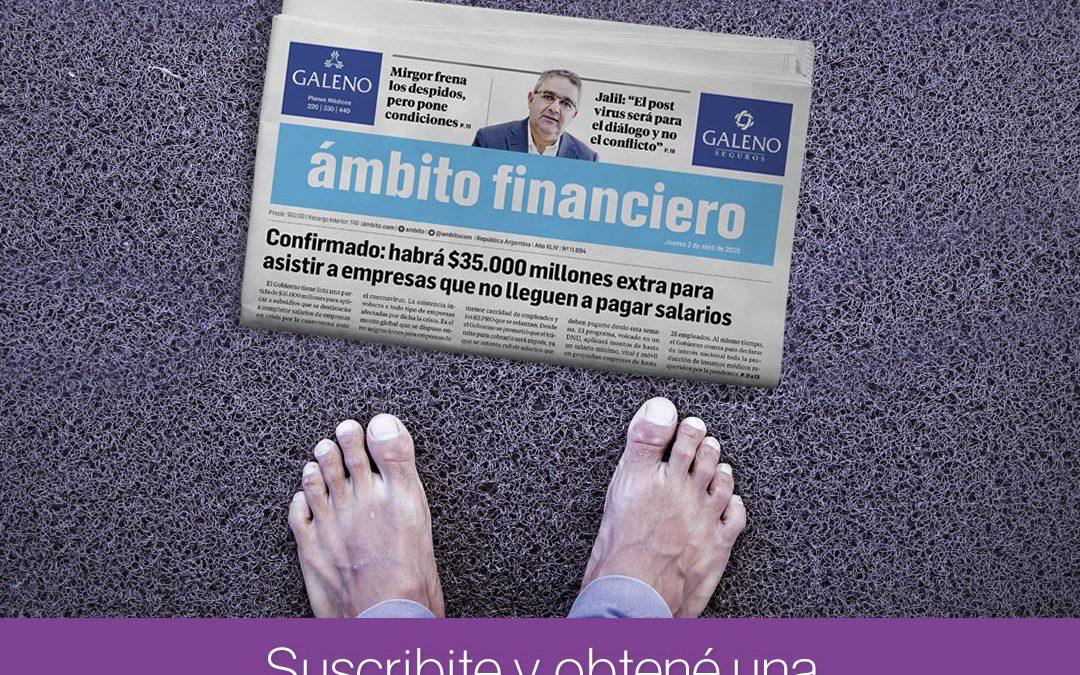 Campaña Suscripciones Ambito Financiero